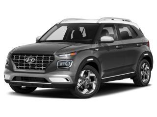 New 2021 Hyundai Venue Ultimate w/Black Interior (IVT) for sale in Charlottetown, PE