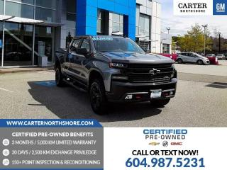Used 2020 Chevrolet Silverado 1500 LT Trail Boss MOONROOF - LEATHER PACKAGE - HEATED SEATS for sale in North Vancouver, BC