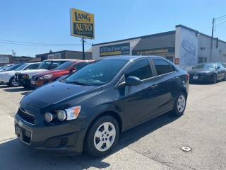 Used 2014 Chevrolet Sonic LS Manual LS TRIM, 5 SPEED MANUAL, ONE OWNER! for sale in Etobicoke, ON