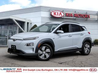 Used 2019 Hyundai KONA EV Preferred / UPTO 415 KMS RANGE/HEATED SEATS/BLIND SPOT/CAMERA/ANDROID AUTO APPLE CARPLAY for sale in Burlington, ON