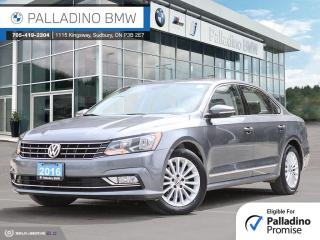 Used 2016 Volkswagen Passat 1.8 TSI Comfortline Winter Tires And Rims Included, LEATHER, ADAPTIVE CRUISE CONTROL for sale in Sudbury, ON