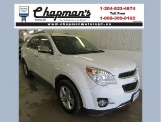 Used 2012 Chevrolet Equinox 2LT Remote Start, Heated Seats, Rear Vision Camera for sale in Killarney, MB