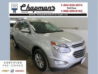 Used 2017 Chevrolet Equinox 1LT 2 Sets of Tires & Rims, Remote Start, Heated Seats for sale in Killarney, MB