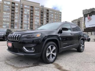 Used 2019 Jeep Cherokee Limited No Accidents, One Owner! Loaded with Features!! for sale in North York, ON