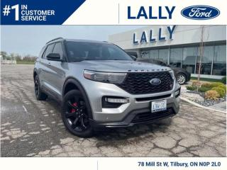 Used 2020 Ford Explorer ST, Loaded, Local Trade, Mint! for sale in Tilbury, ON