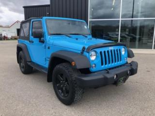 Used 2017 Jeep Wrangler Sport Remote Start, Heated Seats, Automatic, Bluetooth! for sale in Ingersoll, ON