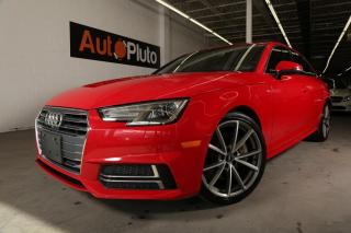 Used 2017 Audi A4 4dr Sdn Auto Technik quattro for sale in North York, ON