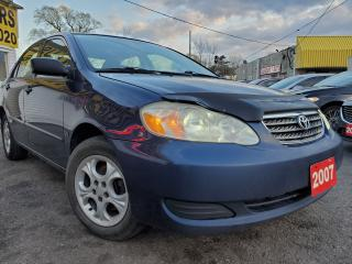 Used 2007 Toyota Corolla LE/AUTO/P.RPPF/LOADED/ALLOYS for sale in Scarborough, ON