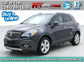Used 2016 Buick Encore Leather for sale in Winnipeg, MB