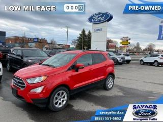 Used 2018 Ford EcoSport SE AWD  - Alloy Wheels - $133 B/W for sale in Sturgeon Falls, ON