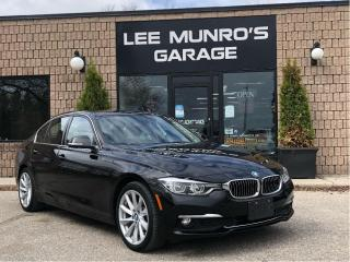 Used 2017 BMW 3 Series Luxury Line w Nav, Heated Seats, Moonroof for sale in Paris, ON