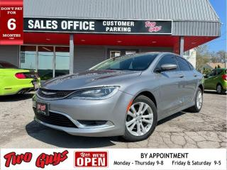 Used 2016 Chrysler 200 Limited | Sunroof | B/Up Cam | Bluetooth | for sale in St Catharines, ON