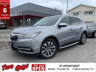 Used 2016 Acura MDX TECH SH-AWD | DVD | Nav | Sunroof | Leather | for sale in St Catharines, ON