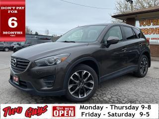 Used 2016 Mazda CX-5 GT AWD | Panoroof | Nav | Leather | Bluetooth | for sale in St Catharines, ON