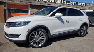 Used 2017 Lincoln MKX AWD 4DR RESERVE for sale in Calgary, AB