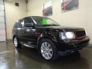 Used 2007 Land Rover Range Rover Sport 4WD 4dr SC for sale in Edmonton, AB