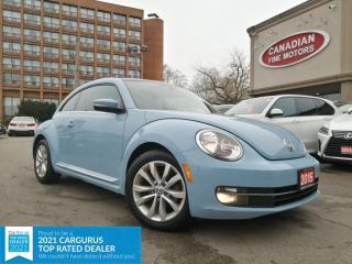 Used 2015 Volkswagen Beetle CLEAN CARFAX |LEATHER |PANO | PUSH START | 4 NEW SNOW TIRES* for sale in Scarborough, ON