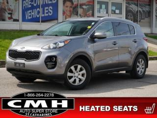 Used 2017 Kia Sportage LX  CAM HTD-SEATS BLUETOOTH 17-AL for sale in St. Catharines, ON
