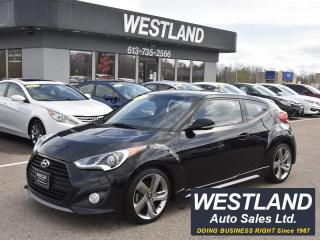 Used 2014 Hyundai Veloster Turbo for sale in Pembroke, ON