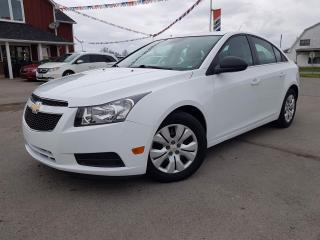 Used 2012 Chevrolet Cruze 2LS No Accidents. Low KMS for sale in Dunnville, ON