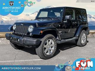 Used 2016 Jeep Wrangler Sahara  -  A/C - $301 B/W for sale in Abbotsford, BC
