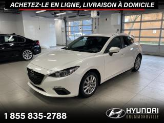 Used 2016 Mazda MAZDA3 GS + GARANTIE + NAVI + CAMERA + 22 208 K for sale in Drummondville, QC