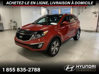 Used 2015 Kia Sportage EX AWD + GARANTIE + TOIT + CUIR + WOW !! for sale in Drummondville, QC