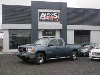 Used 2008 GMC Sierra 1500 4 X 4  Ext Cab 143.5 + INSPECTÉ for sale in Sherbrooke, QC