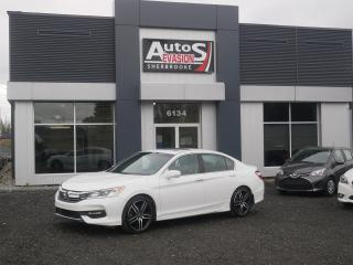 Used 2017 Honda Accord Sport + TOIT + INSPECTÉ for sale in Sherbrooke, QC