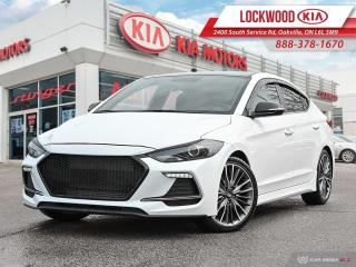 Used 2017 Hyundai Elantra 4dr Sdn DCT Sport Tech - NAV | SUNROOF | BLIND SPO for sale in Oakville, ON