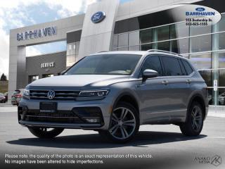Used 2019 Volkswagen Tiguan Highline for sale in Ottawa, ON