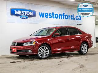 Used 2015 Volkswagen Jetta TDI Highline+AS-IS for sale in Toronto, ON