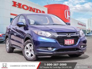 Used 2017 Honda HR-V EX BLUETOOTH | REARVIEW CAMERA | PUSH BUTTON START for sale in Cambridge, ON