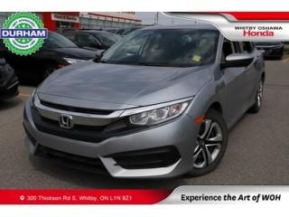 Used 2018 Honda Civic LX | CVT | Android Auto/Apple CarPlay for sale in Whitby, ON