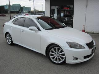 Used 2009 Lexus IS 250 AWD $11,995+HST+LIC FEE / CLEAN CARFAX / CERTIFIED / ALL WHEEL DRIVE for sale in North York, ON