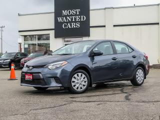 Used 2016 Toyota Corolla LE|CAMERA|HEATED SEATS|XENONS|TOUCHSCREEN for sale in Kitchener, ON