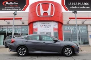 Used 2016 Honda Civic Sedan LX - RELIABLE FUEL SAVER WITH HEATED SEATS - for sale in Sudbury, ON