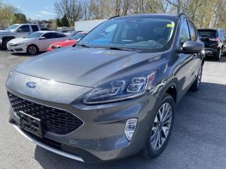 New 2021 Ford Escape Titanium Hybrid TITANIUM HYBRID AWD for sale in Cornwall, ON