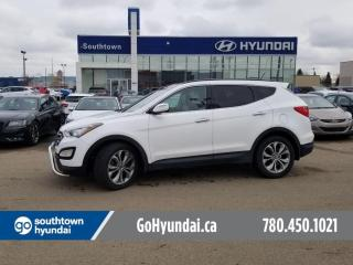 Used 2014 Hyundai Santa Fe Sport SE/PANO ROOF/LEATHER/HEATED STEERING WHEEL for sale in Edmonton, AB