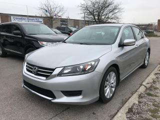 Used 2013 Honda Accord 4 CYL,AUTO,B/U CAM,ALLOY,SAFETY+3Y WARRANTY INCLUD for sale in Toronto, ON