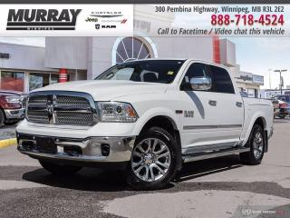 Used 2015 RAM 1500 Laramie Limited *4x4   EcoDiesel   Crew Cab* for sale in Winnipeg, MB
