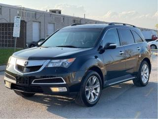 Used 2012 Acura MDX Elite Pkg Navigation/Camera/DVD/7Pass for sale in North York, ON