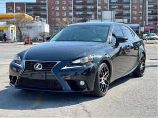 Used 2014 Lexus IS 250 Premium AWD Leather/Loaded for sale in North York, ON
