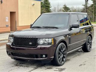 Used 2012 Land Rover Range Rover SC Autobiography Navigation/Leather/Sunroof for sale in North York, ON