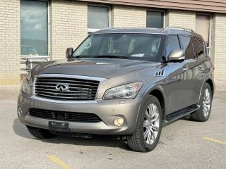 Used 2013 Infiniti QX56 TECHNOLOGY NAVI/DVD/SUNROOF/7 PASS for sale in North York, ON