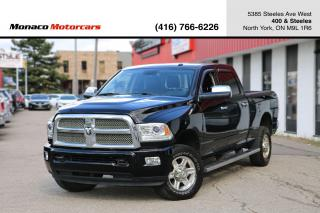 Used 2013 RAM 2500 LIMITED 4WD CREWCAB - LEATHER|SUNROOF|NAVI|BACKUP for sale in North York, ON