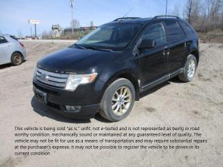 Used 2009 Ford Edge SEL for sale in North Bay, ON