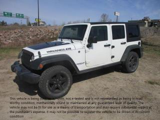 Used 2017 Jeep Wrangler UNLIMITED SPORT for sale in North Bay, ON