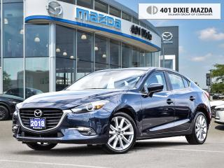 Used 2018 Mazda MAZDA3 GT NO ACCIDENTS| NAVIGATION| SUNROOF for sale in Mississauga, ON