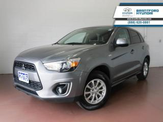 Used 2015 Mitsubishi RVR 4WD | BLUETOOTH | BACK UP CAM | HTD SEATS  - $101 B/W for sale in Brantford, ON